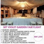 Set Violet Garden Fairy-light 3