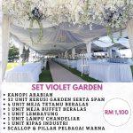 Set Violet Garden 3
